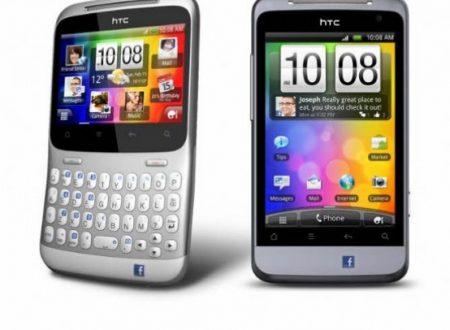 NUOVI HTC SALSA E CHACHA