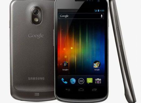 Ecco il nuovo Galaxy Nexus!