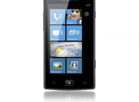 Samsung contro nokia: Omnia W per contrastare il Lumia 800