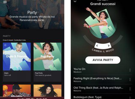 Spotify Party: il dj personale che mixa brani per le tue feste