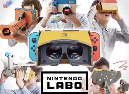 Anche Nintendo avrà la sua VR: annunciato un nuovo kit Labo!