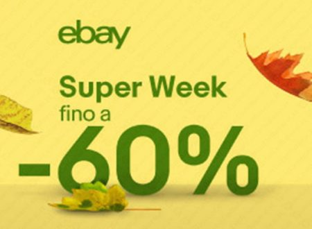 Al via la #EbaySuperWeek!